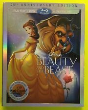 Beauty and the Beast (Blu-ray/DVD/Digital HD, 2016; Signature Collection) NEW