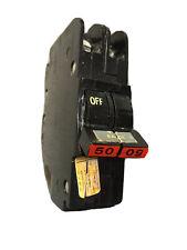 FPE Federal Pacific 50 Amp 2 Pole NC250 Stab-Lok Mini THIN NC chip screen