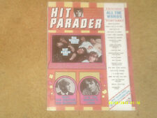 Rolling Stones,Nilsson-COVER-Hit Parader Mag 12/68 articles:Jimmy Page,Byrds VG+