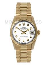 Relojes de pulsera Rolex President oro amarillo