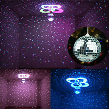 100mm Mirror Glass Disco Ball DJ Dance Home Party Bands Club Stage Lighting Kit
