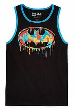Batman Paintball Logo Tank Top T-Shirt DC Comics Lego - Youth M XL - New w/Tags!