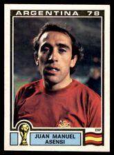 Panini Argentina 78 - Juan Manuel Asensi Spain No. 216
