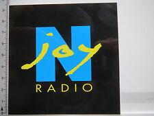 Aufkleber Sticker Radio N´joy - Rundfunk -  (6735)