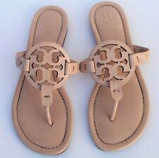 TORY BURCH 'Miller' Blush Patent Leather Thong Sandal Slipper Flip Flop 6.5 Pink