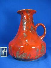 """70´s Design Jopeko """" pottery  Keramik vase  2014  / 25 red glaze"""