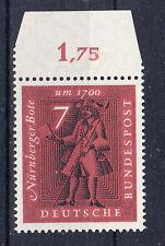 BRD Briefmarken 1961 Der Brief im Wandel der Zeit  Mi.Nr.365 ** postfrisch Rand