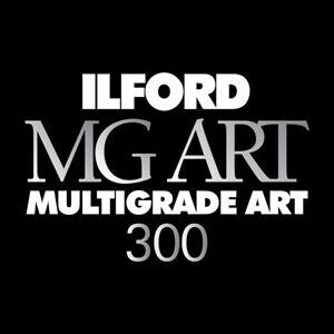 Ilford Multigrade MG ART 300 20x25 /50f  Opaca - Carta Fotografica B/N