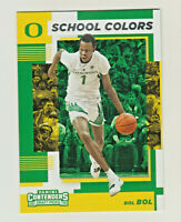 2019-20 Panini Contenders Draft SCHOOL COLORS 14 BOL BOL RC Rookie QTY AVAILABLE