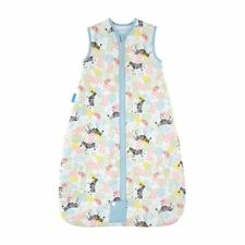 The Gro Company Grobag Zippy Zebras Travel Baby Sleeping Bag, 0-6 Months 2.5 Tog