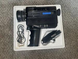 Bell & Howell Filmosonic XL 1235 Super 8 Movie Camera Macro Open Boxed