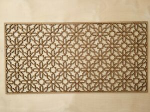 Radiator Cabinet Decorative Screening Radiator Grilles MDF 3mm and 6mm item S35