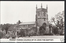 Wiltshire Postcard - Pewsey Parish Church of St John The Baptist   RS253