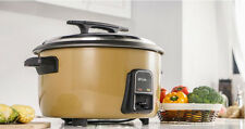 19L Commercial Electric Heating Cookers Steaming Cooking Kitchen Rice Cooker