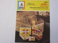 1964 Winchester Western Super X Ammunition Price List Catalog LOTS More Listed!!