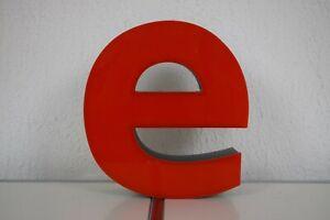 Buchstabe 'E' Leuchtbuchstabe Leuchtreklame Deko Reklame