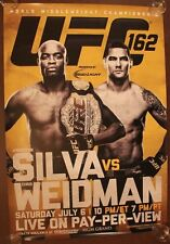 Official UFC 162 Anderson Silva vs Chris Weidman Poster 27x39 (Near Mint)