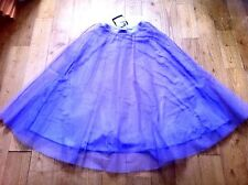 FRENCH REPETTO DANCER REHEARSAL SHOW LONG TULLE SKIRT - LIGHT PURPLE - NEW - M/L