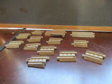 THOMAS TRAIN TRACKMASTER PLASTIC TRACK LOT OF 13 REPLACEMENT TAN SPECIALTY PCS