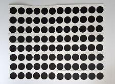 Klebepunkte, Markierungspunkte, Gewebeklebepunkte, 96 St. 30mm Schwarz