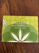 Pacifica Tahitian Gardenia Bar Soap Natural Vegan Full Size 6oz New & Sealed!