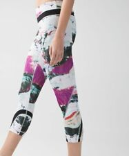 Lululemon Run Size 8 Inspire Crop II All Full-On Luxtreme Pigment Wave Multi