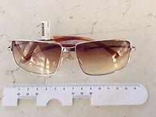 Prada SPR 60B 5AK-3U1 occhiale sole folding nuovo anno 2001colore oro  -40%
