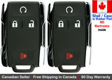 2 New Replacement Keyless Key Fob Remote For Chevy GMC M3N 32337100 Shell Only