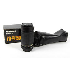 OSAWA JAPAN 70-150mm 3.8 MC zoom lens for Canon Fd boxed