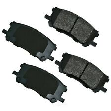 Disc Brake Pad Set-Hybrid Front Akebono ACT1005