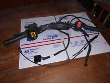 2007 07 SKI DOO MXZ 800 HANDLE BARS WITH ALL CONTROLS-CABLES-WIRES-BRAKES