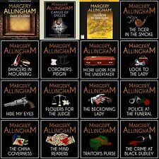 Margery Allingham - Albert Campion Complete Audiobook Collection on mp3 DVD