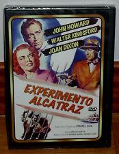 EXPERIMENTO ALCATRAZ DVD NUEVO PRECINTADO CINE CLASICO SUSPENSE  (SIN ABRIR) R2