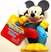 """Mickey Mouse Bath Squirter Fisher Price Disney Clubhouse New 4.5"""" Tall"""