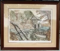 PAUL GEYGAN (1935-2000) Vintage Landscape Etching Hand Signed Limited Edition