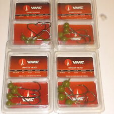 VMC Barbarian Shaky Jigs (Lot of 4-1/4 ,3/16 & 1/8 ounce-Watermelon)