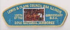 BSA, Lewis & Clark Council Illinois IL, 2010 National Jamboree, BLU Bckd JSP CSP