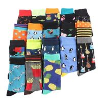 Cool Food Animal Hip Hop Crew Socks Funny Street Happy Socks Men Harajuku Divert