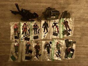 G.I. Joe Lot Cobra Fang Road Rebel Zartan Zarana Scarlett Figures 1/18 Scale