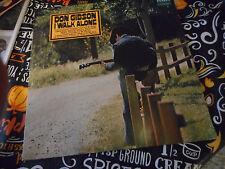 Don Gibson I Walk Alone 1971 Vinyl LP