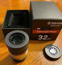 Meade Series 5000 32mm 60 Degree 5 Element Plossl Telescope Eyepiece