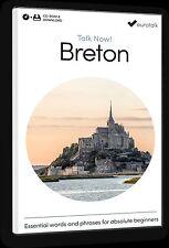 Eurotalk Talk Now BRETON pour débutants - Téléchargement option et CD ROM