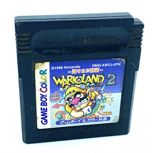 [JAP] Wario Land 2 / II - Nintendo Game boy Color - NTSC-J