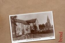 Read Lancashire ,The Vicarage and church Real photo unposted . XC1
