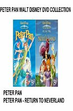 PETER PAN PART 1 + 2 DVD Original Walt Disney Movie Film Cartoon New Sealed UK