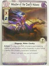 Legend of the Five Rings - 1x #069 Master of the Swift Waves - The Ebb and Flow