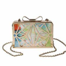 Women's Fashion Handbags Metal Solid Shinning Print Day Clutch Shoulder Bags