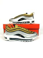 de08ac4e65 Womens Nike Air Max 97 SE Metallic Gold Black Metallic Silver AQ4137 ...