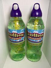 2 X Gazillion Bubbles 1 Liter Premium Solution 2 Liters Total Wand Funrise