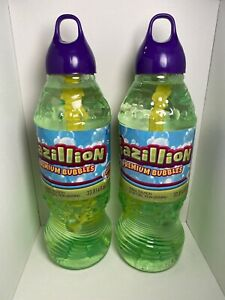 2 X Gazillion Bubbles 1 Liter Premium Solution 2 Liters Total Wand Funrise